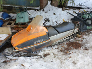 Snowmobile Nordic Skandic 1982
