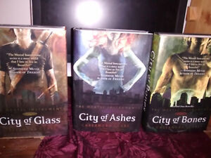 The Mortal Instruments -Hard Cover BOOKS, three for sale