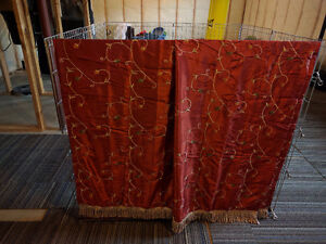 """Curtains (2 pieces) 85"""" x 52"""""""