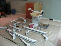 Acorn 180 Curved Stairlift - Left Hand - Like New- $990