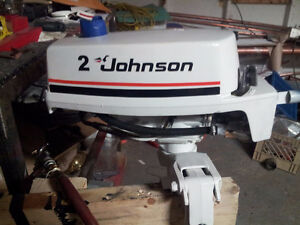 2 HP Evinrude or Johnson Outboards