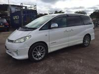 TOYOTA ESTIMA 2005/54 2.4 8 SEATER PETROL - AUTOMATIC - NEW IMPORT **FAMILY CAR*