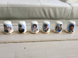 Royal Family Thimbles 6 for $10 in St Thomas
