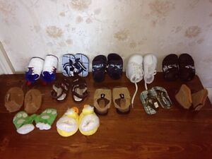 Various baby shoes size 1-4