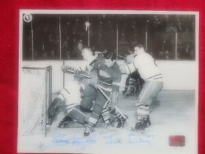 HARRY LUMLEY Toronto Maple Leafs TED LINDSAY Detroit Red Wings