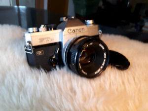 Canon FTb with 50 mm