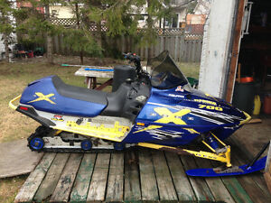2002 polaris 700 xc runs great condition - trade for newer atv
