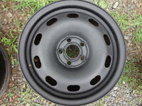 VW Steel rims 5X100