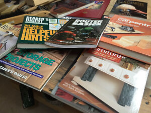 MAKE AN OFFER-  Books for the hobby carpenter or Mr.  Fix-It