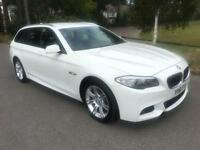 2011 61 BMW 5 SERIES 2.0 520D M SPORT TOURING 5D 181 BHP DIESEL