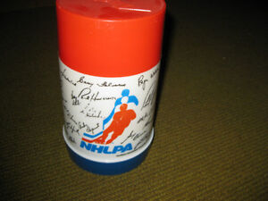 VINTAGE THERMOS LUNCHBOX 1970 NHLPA et RAGGEDY ANN AND ANDY