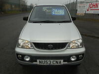 DAIHATSU TERIOS SPORT PETROL 5 DOOR MANUAL