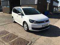 2012 VOLKSWAGEN TOURAN 1.6 TDI S 7 SEATER,6 SPEED,