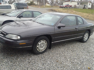 1996 Chevrolet Monte Carlo LS Coupe (2 door)