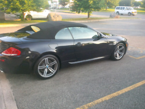 2010 BMW M6 Conv Manual trans 505hp V10