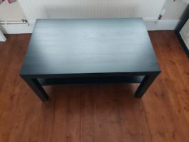 Coffee table (black/brown)