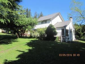 3bed house on acreage