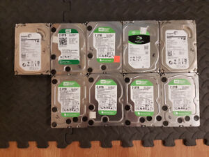 9 2TB HardDrives + Dell Perc 5 Raid Card
