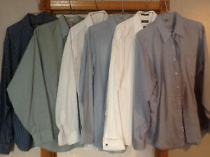 DRYCLEANED SHIRTS