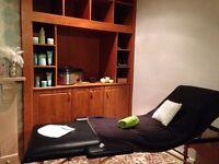Massage bed/black