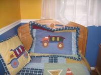Ensemble de couvre-lit pour garçon.
