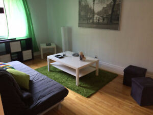 Furnished bedrooms for students (Plateau and NDG)