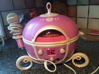 Karaoke CD player Disney princess