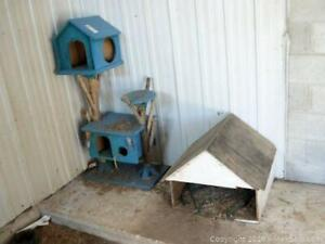 Cat Tree And Doghouse A