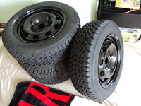 195/65R15 Good Year Nordic like brand new winter tires and rims