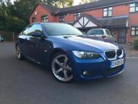 BMW 320D M SPORT COUPE 2008 MANUAL NEW ENGINE FITTED