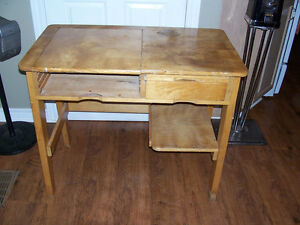 Pine Desk 36 by 20 and 30 Inches Tall