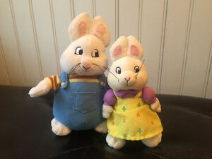 MAX AND RUBY PLUSH EXCELLENT CONDITION!!!
