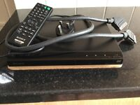 Sony DVD player as new with scart lead