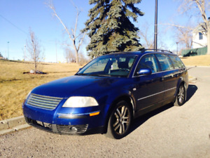 2002 Volkswagen Passat GLX All Wheel Drive