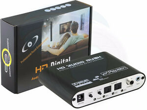 Channel DTS AC3 HD Audio Rush Digital Surround Sound Decoder