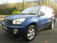 05/53 TOYOTA RAV4 2.0VX VVTI 4X4 ESTATE IN MET BLUE