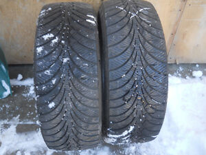 just one WINTER pair 235 55 R17 with at least 80% tread 8/32nd