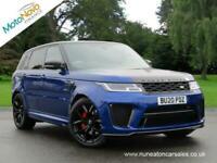 2020 Land Rover Range Rover Sport SVR Auto 4x4 Petrol Automatic