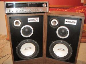 """Haut parleur, Speakers avec subwoofers Alpine type E 10"""""""
