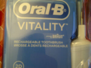 NO E-MAILS toothbrush Oral-B rechargeable brand NEW