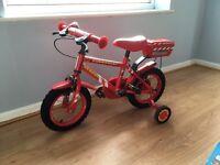 Fire Chief rescue bike