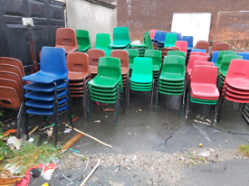 Adults size school chairs
