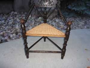 Unique & Even One Of A Kind....Antique Three Legged Chair