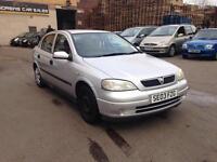 2003 Vauxhall Astra 1.4 i 16v LS Hatchback 5dr Petrol Manual (167 g/km, 89