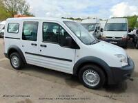 2010 60 FORD TRANSIT CONNECT SIDE WINDOWS, ONE FLEET OWNER, IDEAL FOR DOGS , FSH