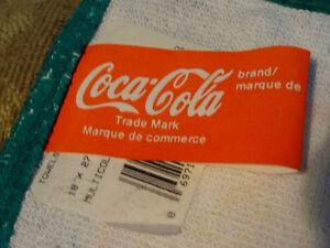 "3 Coca Cola dish or bar towels, 18"" x 27"", never used Cornwall Ontario image 2"