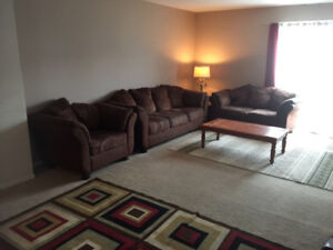 Fully furnished townhouse for  sublease