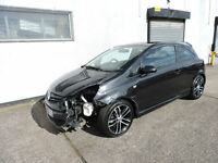64 Vauxhall Corsa 1.4i Black Edition Turbo Damaged Salvage Repairable