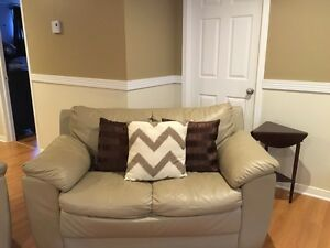 2 Beige couches best offer accepted