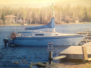 Sailboat for sale with slip at Sunshine Bay Yacht Club